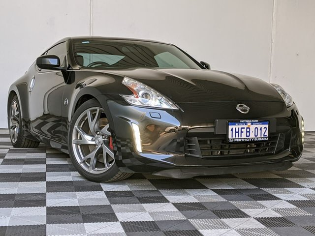 Used Nissan 370Z Z34 MY14 Victoria Park, 2014 Nissan 370Z Z34 MY14 Black 7 Speed Sports Automatic Coupe
