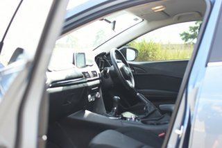 2016 Mazda 3 BM MY15 SP25 Blue 6 Speed Manual Sedan
