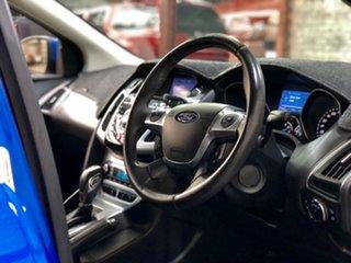 2012 Ford Focus LW MkII Titanium PwrShift Blue 6 Speed Sports Automatic Dual Clutch Hatchback