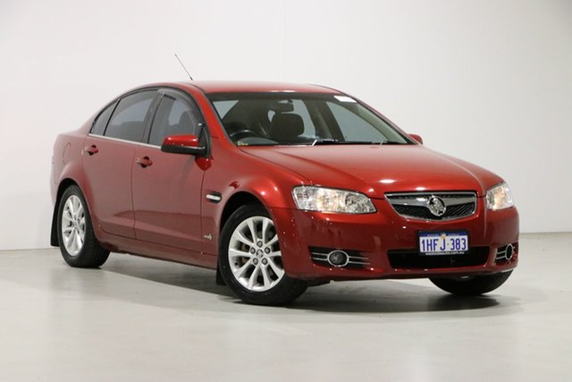 Used Holden Berlina VE II MY12 Bentley, 2012 Holden Berlina VE II MY12 Red 6 Speed Automatic Sedan