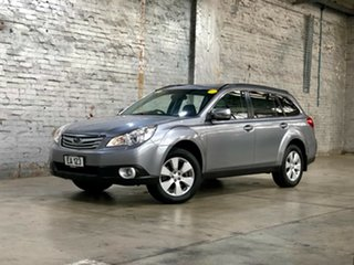 2009 Subaru Outback B5A MY10 3.6R AWD Premium Silver 5 Speed Sports Automatic Wagon