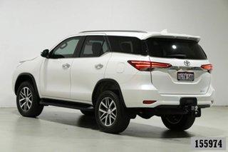 2019 Toyota Fortuner GUN156R MY19 Crusade White 6 Speed Automatic Wagon