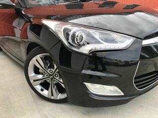 2012 Hyundai Veloster FS + Coupe Black 6 Speed Manual Hatchback