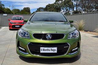 2015 Holden Ute VF II MY16 SS V Ute Redline Jungle Green 6 Speed Sports Automatic Utility.