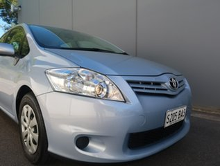 2012 Toyota Corolla ZRE152R MY11 Ascent Blue 4 Speed Automatic Hatchback