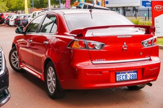 2012 Mitsubishi Lancer CJ MY13 LX Red 6 Speed Constant Variable Sedan.