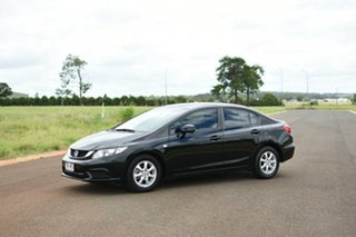 2015 Honda Civic Black Automatic Sedan