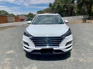 2019 Hyundai Tucson TL3 MY20 Elite AWD White 8 Speed Sports Automatic Wagon.