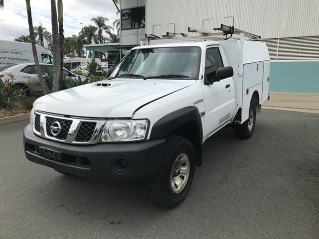 Used Nissan Patrol Y61 Series 4 MY14 DX Acacia Ridge, 2014 Nissan Patrol Y61 Series 4 MY14 DX White 5 speed Manual Cab Chassis