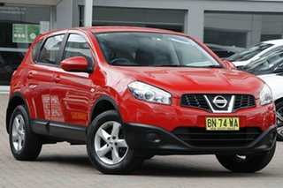 2012 Nissan Dualis J10W Series 3 MY12 ST Hatch X-tronic 2WD Red 6 Speed Constant Variable Hatchback.