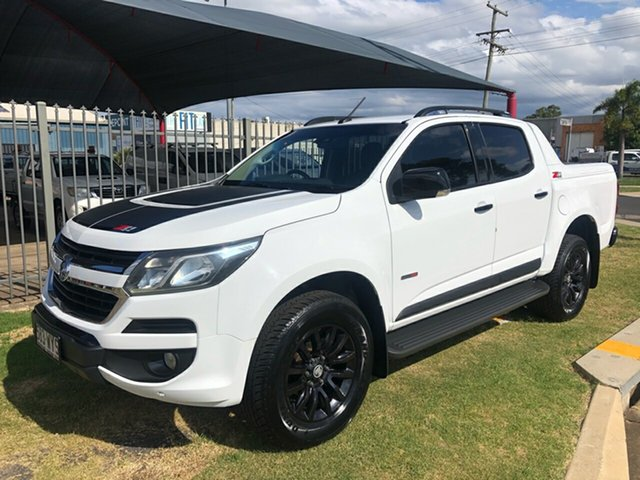 Used Holden Colorado RG MY17 Z71 (4x4) Toowoomba, 2016 Holden Colorado RG MY17 Z71 (4x4) White 6 Speed Automatic Crew Cab Pickup