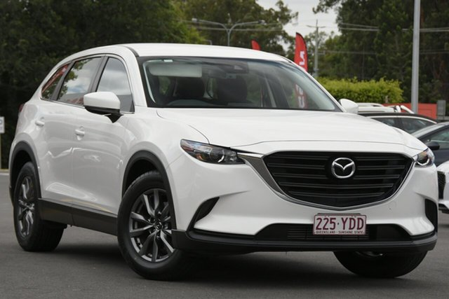 Used Mazda CX-9 TC Sport SKYACTIV-Drive Aspley, 2017 Mazda CX-9 TC Sport SKYACTIV-Drive White 6 Speed Sports Automatic Wagon