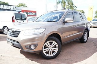 2009 Hyundai Santa Fe CM MY10 Highlander CRDi (4x4) Brown 6 Speed Automatic Wagon.