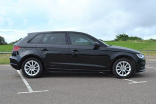 2014 Audi A3 8V Attraction Sportback S Tronic Black 7 Speed Sports Automatic Dual Clutch Hatchback.