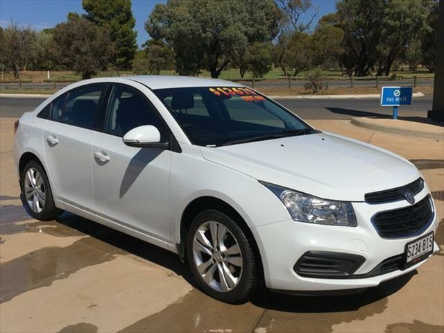 Used Holden Cruze JH Series II MY15 Equipe Berri, 2015 Holden Cruze JH Series II MY15 Equipe White 6 Speed Sports Automatic Sedan