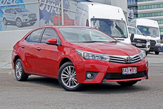 2015 Toyota Corolla ZRE172R SX S-CVT Red 7 Speed Constant Variable Sedan.