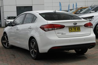 2018 Kia Cerato YD MY18 Sport+ White 6 Speed Sports Automatic Sedan.