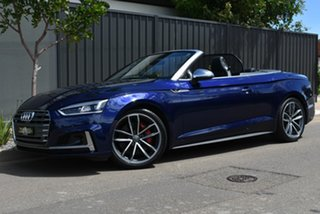 2017 Audi S5 F5 MY18 Tiptronic Quattro Blue 8 Speed Sports Automatic Cabriolet.