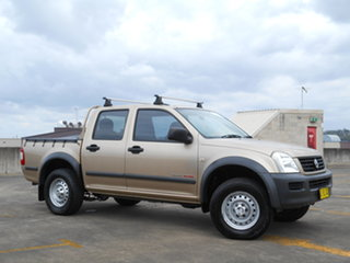 2006 Holden Rodeo RA MY06 LX Crew Cab Gold 5 Speed Manual Utility.