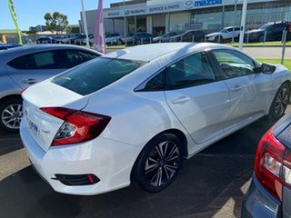 2017 Honda Civic 10th Gen MY16 VTi-LX White 1 Speed Constant Variable Sedan
