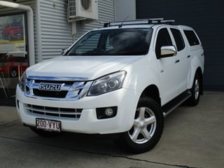 2015 Isuzu D-MAX MY15 LS-Terrain Crew Cab White 5 Speed Sports Automatic Utility