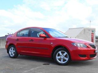 2006 Mazda 3 BK10F1 Maxx Red 4 Speed Sports Automatic Sedan.