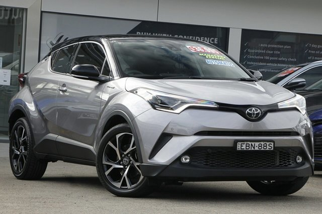 Used Toyota C-HR NGX10R Koba S-CVT 2WD Homebush, 2019 Toyota C-HR NGX10R Koba S-CVT 2WD Grey 7 Speed Constant Variable Wagon