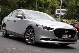 2020 Mazda 3 BP2S7A G20 SKYACTIV-Drive Touring Sonic Silver 6 Speed Sports Automatic Sedan.