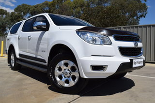 2014 Holden Colorado RG MY14 LTZ Crew Cab Summit White 6 Speed Sports Automatic Utility.