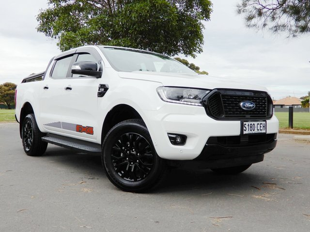 Used Ford Ranger PX MkIII 2020.25MY FX4 Glenelg, 2019 Ford Ranger PX MkIII 2020.25MY FX4 White 6 Speed Sports Automatic Double Cab Pick Up