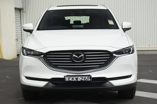 2020 Mazda CX-8 KG4W2A Asaki SKYACTIV-Drive i-ACTIV AWD White 6 Speed Sports Automatic Wagon