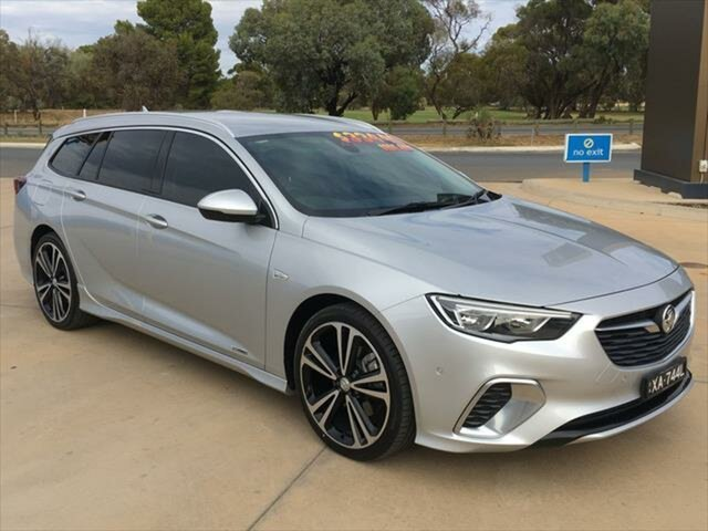 Used Holden Commodore ZB MY18 RS-V Sportwagon AWD Berri, 2018 Holden Commodore ZB MY18 RS-V Sportwagon AWD Nitrate Silver 9 Speed Sports Automatic Wagon