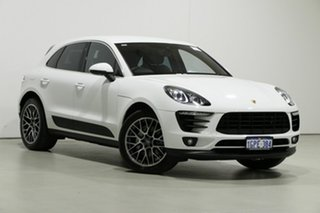 2017 Porsche Macan 95B MY18 S Carrara White 7 Speed Auto Dual Clutch Wagon.