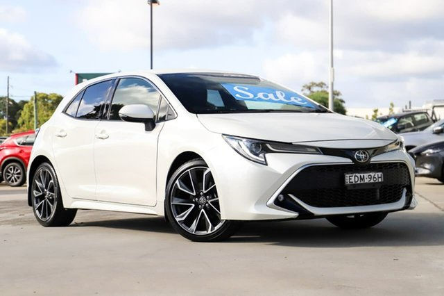Used Toyota Corolla Mzea12R ZR Kirrawee, 2019 Toyota Corolla Mzea12R ZR White 10 Speed Constant Variable Hatchback