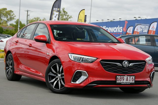 Used Holden Commodore ZB MY18 RS Liftback Aspley, 2018 Holden Commodore ZB MY18 RS Liftback Red 9 Speed Sports Automatic Liftback
