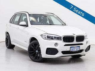 2016 BMW X5 F15 MY15 xDrive30d White 8 Speed Automatic Wagon.
