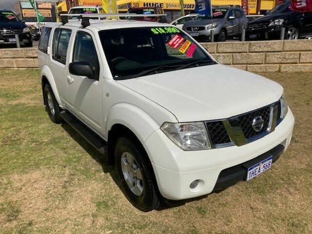 Used Nissan Pathfinder R51 MY08 ST Wangara, 2008 Nissan Pathfinder R51 MY08 ST White 5 Speed Sports Automatic Wagon