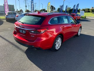 2014 Mazda 6 GJ1031 Touring SKYACTIV-Drive Red 6 Speed Sports Automatic Wagon