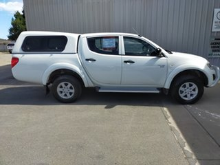 2012 Mitsubishi Triton MN MY12 GLX Double Cab 5 Speed Manual Utility.