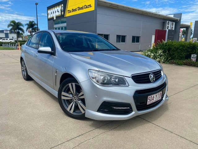 Used Holden Commodore VF MY15 SV6 Townsville, 2015 Holden Commodore VF MY15 SV6 Silver/150415 6 Speed Sports Automatic Sedan