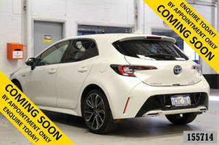 2019 Toyota Corolla ZWE211R ZR Hybrid White Continuous Variable Hatchback