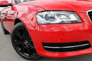 2011 Audi A3 8P MY12 Attraction S Tronic Brilliant Red 7 Speed Sports Automatic Dual Clutch.