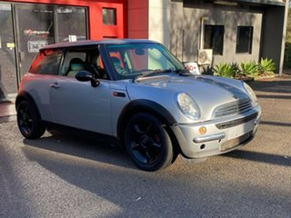 2003 Mini Hatch R50 MY03 Cooper Metallic Silver 6 Speed Constant Variable Hatchback.
