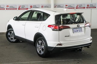 2016 Toyota RAV4 ZSA42R MY17 GX (2WD) Glacier White Continuous Variable Wagon.
