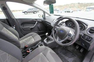 2013 Ford Fiesta WZ Ambiente White 5 Speed Manual Hatchback