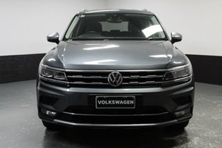 2018 Volkswagen Tiguan 5N MY18 140TDI Highline DSG 4MOTION Allspace Grey 7 Speed.