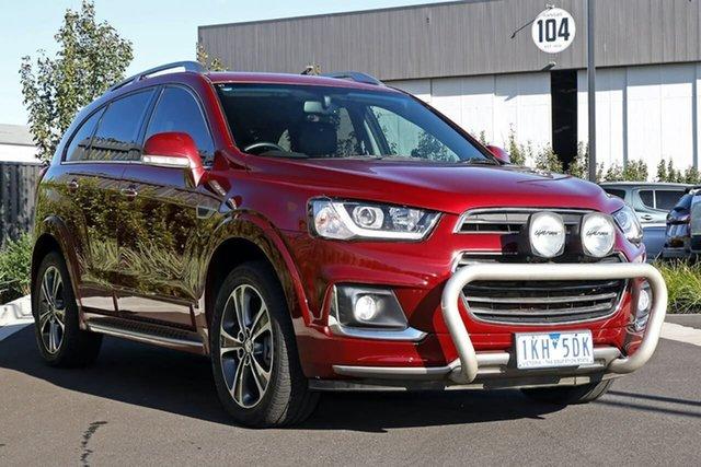 Used Holden Captiva CG MY16 LTZ AWD Essendon Fields, 2016 Holden Captiva CG MY16 LTZ AWD Red 6 Speed Sports Automatic Wagon