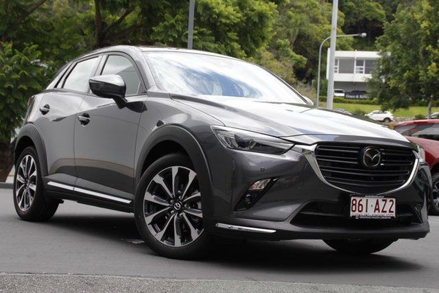 Demo Mazda CX-3 DK2W7A Akari SKYACTIV-Drive FWD Newstead, 2020 Mazda CX-3 DK2W7A Akari SKYACTIV-Drive FWD Machine Grey 6 Speed Sports Automatic Wagon