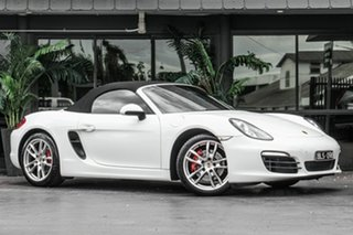 2012 Porsche Boxster 981 S PDK White 7 Speed Sports Automatic Dual Clutch Convertible