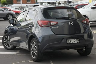 2014 Mazda 2 DJ2HAA Genki SKYACTIV-Drive Metropolitan Grey 6 Speed Sports Automatic Hatchback.